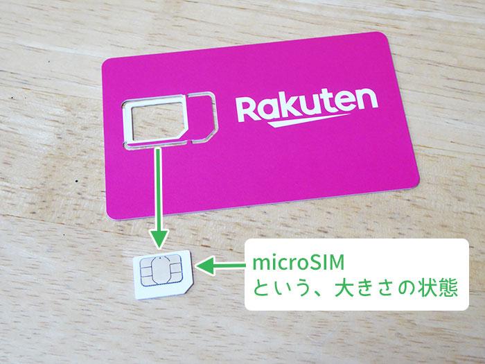 楽天モバイルのSIMカードを取り付ける手順13