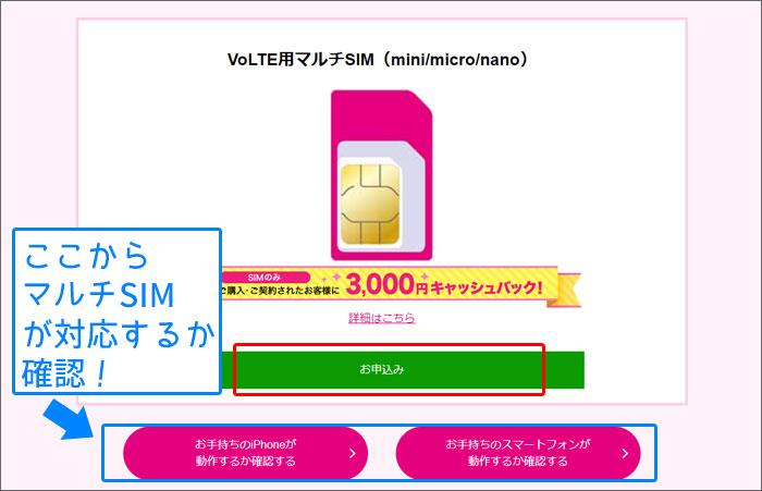 UQモバイル SIMを購入する